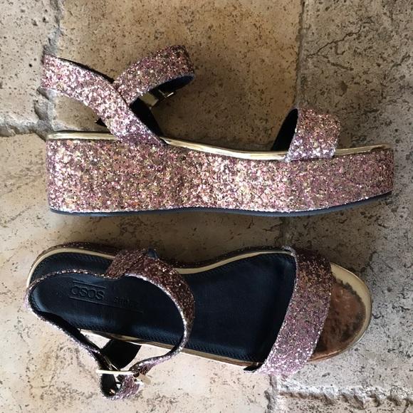 cba221893a11 ASOS Shoes - ASOS Toucan Wedge Sandals (Never Worn!)